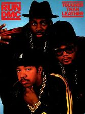 Run Dmc 1987 Tougher Than Leather Tour Concert Program Book / Nmt 2 Mint
