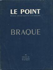 EO 1953 SIGNÉE GEORGES BRAQUE + ROBERT DOISNEAU + LE POINT N° XLVI : BRAQUE