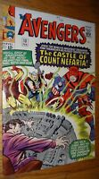 AVENGERS #13   COUNT NEFARIA 8.0 W/OW PAGES