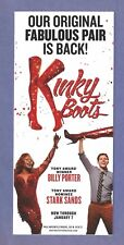 KINKY BOOTS on Broadway by CYNDI LAUPER starring BILLY PORTER and STARK SANDS