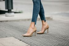Sam Edelman Hazel nude leather heels size 7.5  narrow new