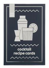 NIEUW! Set van 30 cocktail receptkaarten