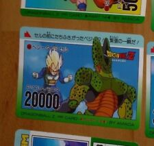 DRAGON BALL Z DBZ AMADA PP PART 19 CARD CARDDASS CARTE 824 MADE IN JAPAN JAP NM