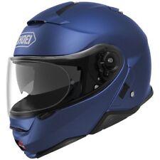 SHOEI NEOTEC II MODULAR MOTORCYCLE HELMET MATTE BLUE XXLARGE 2XL 0116-0132-08