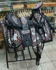 Mexican charro saddle