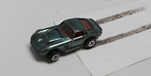 1969 Johnny Lightning Topper - Custom Ferrari - Green - w/ Red Interior