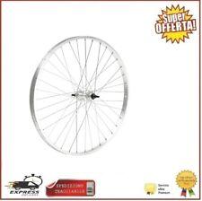 Ruota MTB 27.5 Anteriore Bici Cerchio Alluminio Mozzo Acciaio Con Dado
