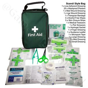 Emergency First Aid Kit - Travel Home Work Sports Camping Medical Set 42 Piece