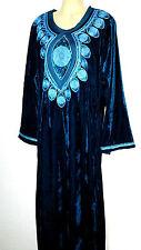 Abaya Maxikleid Kaftan arabisches Kleid Jellabiya Gallaba Samtkleid Gr. XL