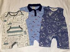 Baby Boy Romper 6-12 Months (Lot Of 3)