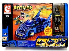 C3 CONSTRUCTION BATMAN ROBIN MINI BATMOBILE MINIMATES NEW 2004 Rare You Build It