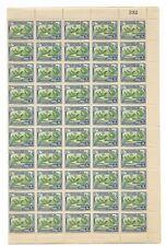 MOZAMBIQUE COMPANY Scott 176 MINT 1937 MNH OG Full Sheet 100 Stamps CV $30