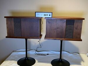 Bose 901 Series II Speakers, Equalizer, Tulip Stands, Manual - No Reserve!