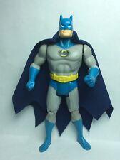VINTAGE KENNER/TOYBIZ ACCESSORY-BATMAN'S NAVY BLUE REPRO CAPE & NECK RING