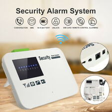 Wireless GSM SMS Smart Office Home Alarm Burglar Security System Auto Dialer