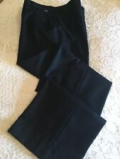 Wolford Straight Leg Wool Tailored Trousers Size 40 12 14 Uk New