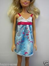 BARBIE DOLL CLOTHES/SHOES  *MATTEL DRESS WITH SPARKLES*   *NEW* #32