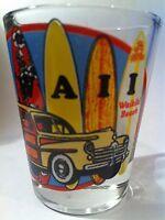 HAWAII WAIKIKI BEACH SHOT GLASS SHOTGLASS
