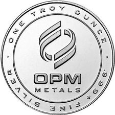 OPM Ohio Precious Metals 1 oz Round .999 Fine Silver (Recycled Conflict-free)