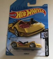 2019 Hot Wheels Deora III in Gold HW Rod Squad Series 2/10. Long Card.