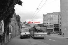 PHOTO  1996 SWITZERLAND FRIBOURG (CH) TROLLEYBUS GIBRALTER TN TB112