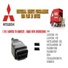 Mitsubishi Universal Remote Programmer OBD -1 / 2 Minutes To Program - Free Post