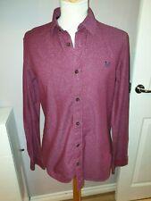MENS DESIGNER CREW CLOTHING RETRO PRINT SHIRT UK MEDIUM MENS RRP £65.00