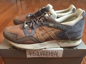 Commonwealth Asics Gel Lyte V 5 Da Vinci Sz 9.5 Kith Supreme off white
