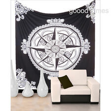 Indian Mandala Bedspread Bohemian Tapestry Wall Hanging Dorm Decorative Tapestry