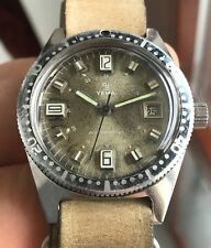 YEMA MILITARY DIVER Pre-Superman 20atm 37mm Automatic TROPICAL DIAL Vintage '60s