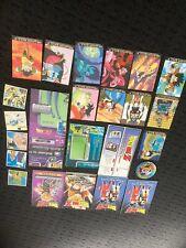 Dragon Ball Z cards rule books stickers misc items Goku Vegeta Trunks RARE