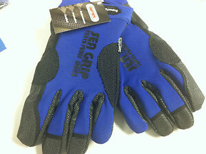 AFW SEA GRIP SUPER FABRIC OFFSHORE GLOVES - BLUE - ULTIMATE PROTECTION