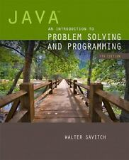Java : An Introduction to Problem Solving and Programming by Walter Savitch...