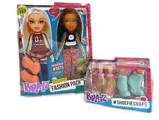 Bratz Doll Clothes Cloe Shoes Sasha Toy Deluxe Fashion 2 Pack New