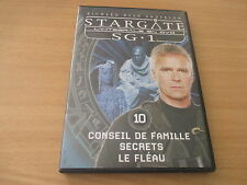 dvd stargate SG 1 volume 10 conseil de famille, secrets, le fleau
