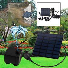 Garden Sprinkler Solar Power Fountain Water Pump Plants Grass Sprayer Irrigation