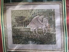 Just Cross Stitch Kit Pegasus By Teresa Wentzler OOP