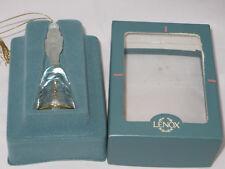 "Lenox ""Nutcracker"" Annual Crystal Bell Ornament - 1993 - Mib"