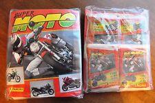 ÚLTIMOS. ALBUM DE CROMOS SUPER MOTO + 40 SOBRES (240 CROMOS + 40 FIGURAS) PANINI
