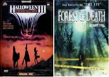 Lotto 2 DVD Horror - Halloween III - Forest Of Death