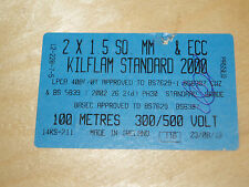 KILFLAM STANDARD 2000 2 x 1.5mm CABLE x 100mtrs