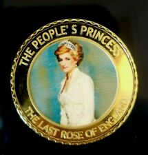 ENGLAND COMMEMORATIVE COINS OF LADY DIANA-PRINCES OF WALES (1961-1997)  COIN # 4