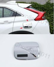Chrome Fuel Oil Tank Gas Cap Cover Trim for 17-19 Mitsubishi Eclipse Cross 1PCS