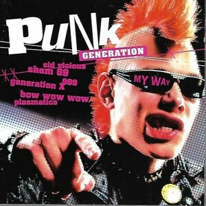 Various Artists - Punk Generation - My Way - The Ruts, 999, Adverts, Lurkers