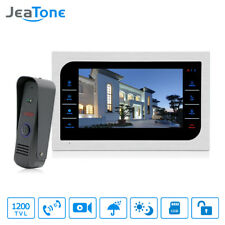 """Video Door phone Doorbell Video Intercom Security Camera and 10""""Monitor Dooropen"""