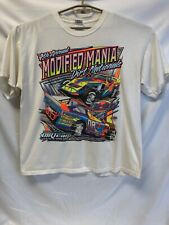 4th Annual MODIFIED MANIA DIRT NATIONALS Vintage Racing T-Shirt 100% Cotton XLG