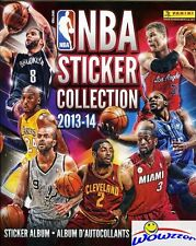 2013/14 Panini NBA Basketball  Complete 72 Page Sticker Album- NEW !