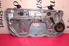 VW POLO 9N3 MK4 3DR 1.2 2006 NSF FRONT WINDOW REGULATOR 6Q0035411A  / 6Q3837401M