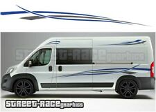 Motorhome Campervan 014 graphics stickers decal Fiat Ducato Citroen Relay Boxer