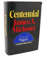James A. Michener CENTENNIAL  1st Edition 1st Printing